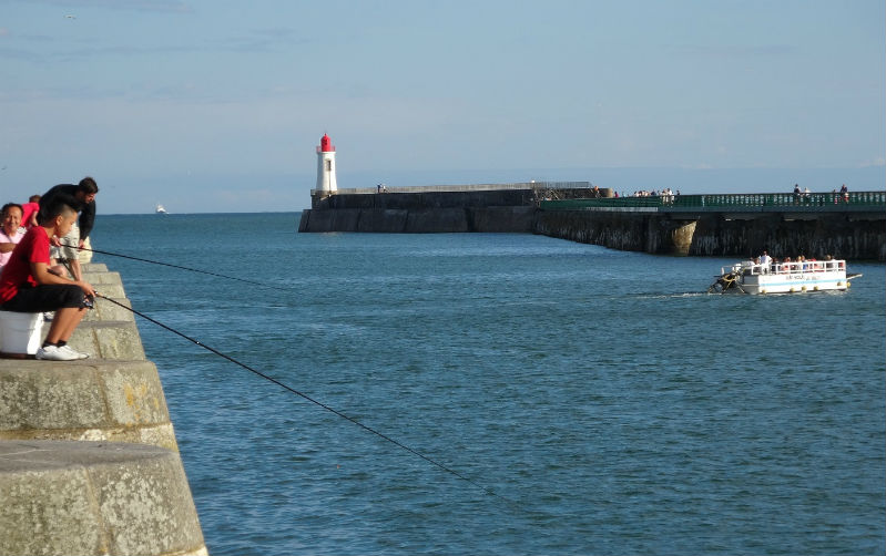 entrée port Sables d`Olonne