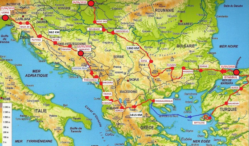 carte Balkans 2010
