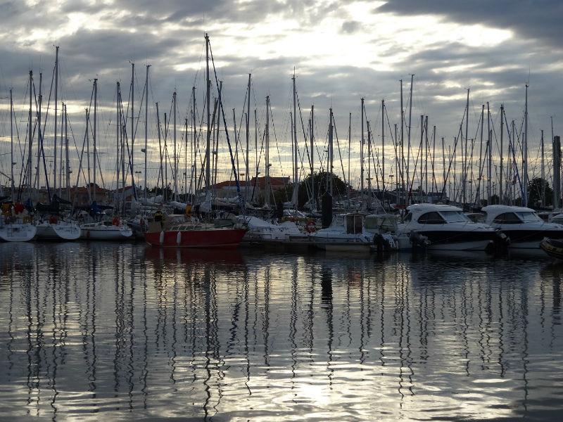 port de plaisance des Sables