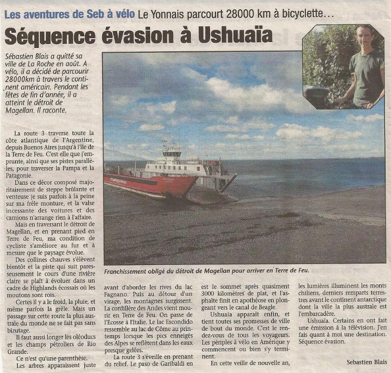 article Pays Yonnais Ushuaa