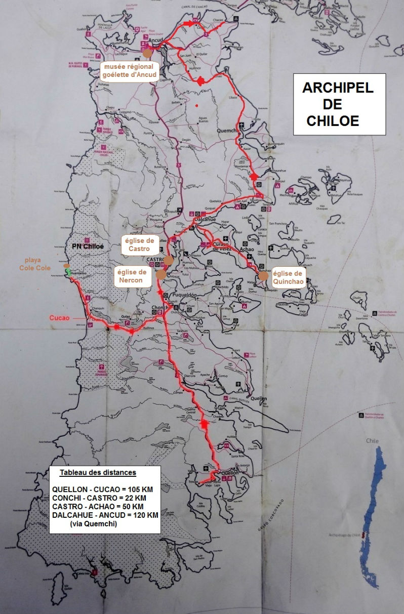 carte Chiloé