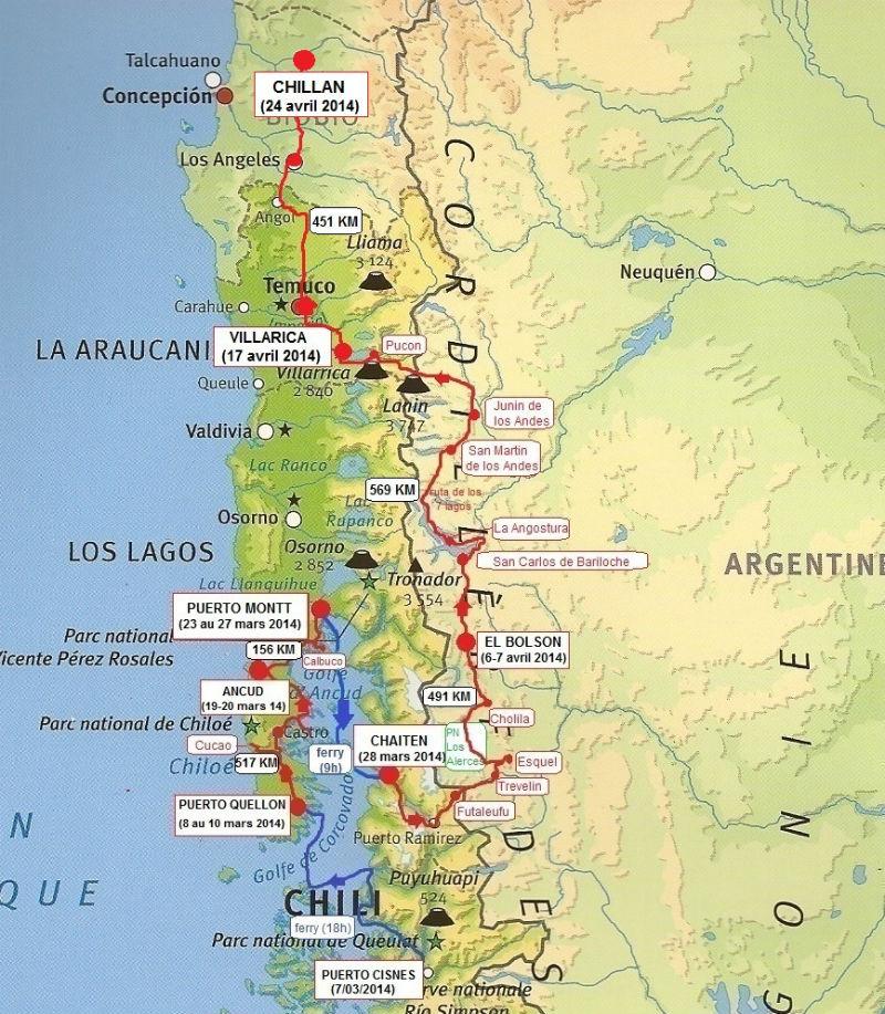 carte Patagonie 2