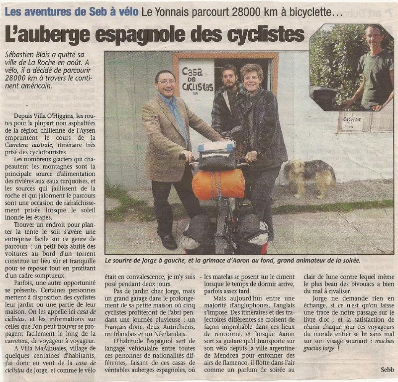 article Pays Yonnais auberge espagnole